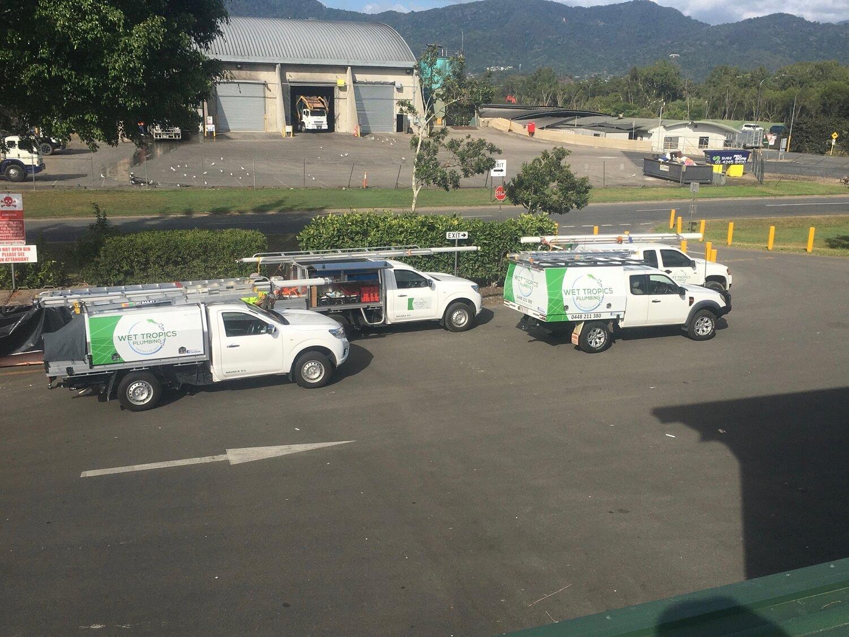 Wet Tropics Plumbing Cairns Vehicles