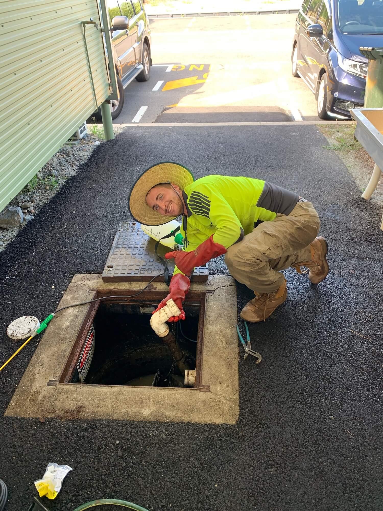 Repairing works by Wet Tropics Plumbing Cairns Staff