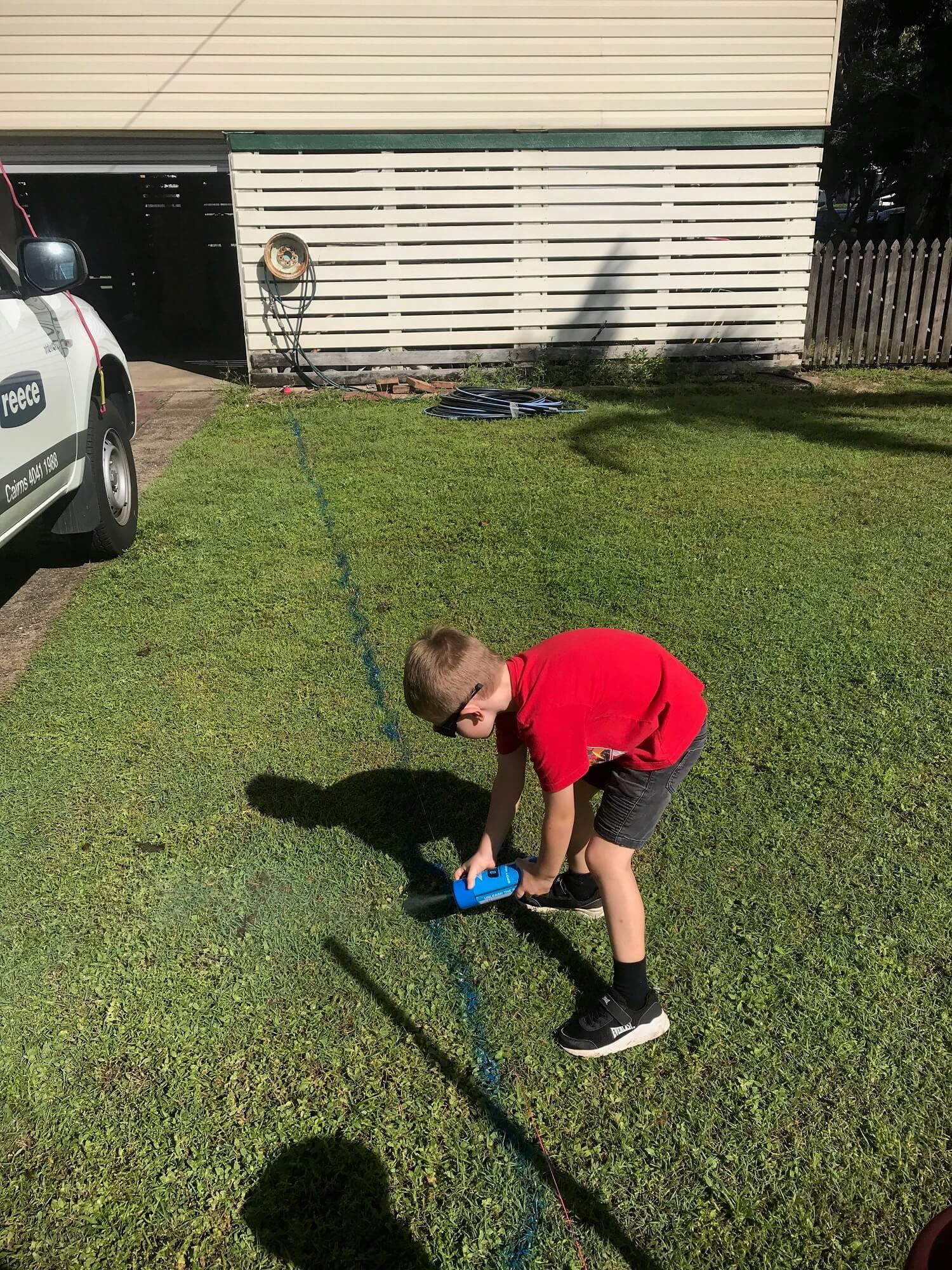 Wet Tropics Plumbers in action in Cairns